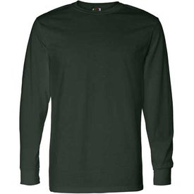 Dark Fruit of the Loom Best 50/50 Long Sleeve T-shirt for Your Church