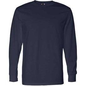 Company Dark Fruit of the Loom Best 50/50 Long Sleeve T-shirt