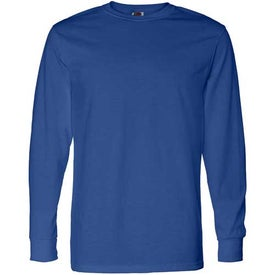 Dark Fruit of the Loom Best 50/50 Long Sleeve T-shirt Giveaways