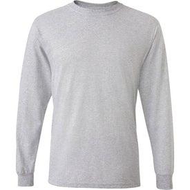 Logo Dark Fruit of the Loom Best 50/50 Long Sleeve T-shirt