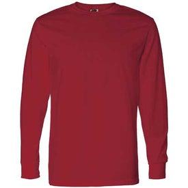 Dark Fruit of the Loom Best 50/50 Long Sleeve T-shirt
