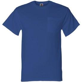 Advertising Light Fruit of the Loom Best 50/50 Pocket T-shirt