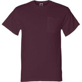 Custom Light Fruit of the Loom Best 50/50 Pocket T-shirt