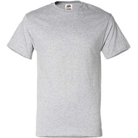 Light Fruit of the Loom 50/50 Cotton 5.6 Oz. T-Shirt