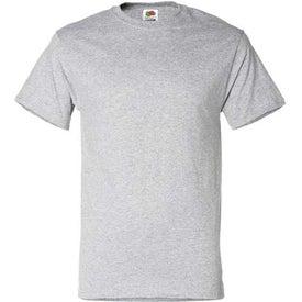 Light Fruit of the Loom 50/50 Cotton 5.6 Oz. T-Shirt