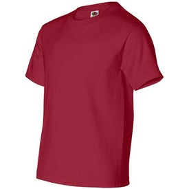 Branded Dark Fruit of the Loom Best 50/50 5.3 Oz. Youth T-shirt