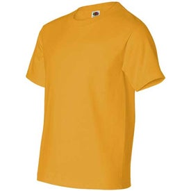 Dark Fruit of the Loom Best 50/50 5.3 Oz. Youth T-shirt for Marketing