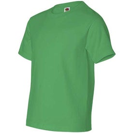 Imprinted Dark Fruit of the Loom Best 50/50 5.3 Oz. Youth T-shirt
