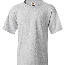 Dark Fruit of the Loom Best 50/50 5.3 Oz. Youth T-shirt for Promotion