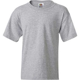 Light Fruit of the Loom Best 50/50 5.3 Oz. Youth T-shirt Printed with Your Logo