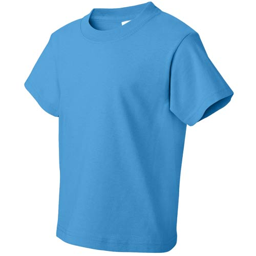 Colored Fruit Of The Loom Heavy Cotton Youth T Shirt