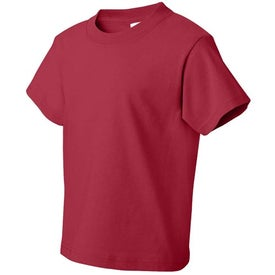 Colored Fruit of the Loom Heavy Cotton Youth T-shirt for Your Company