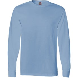 Fruit of the Loom Long Sleeve Cotton T-Shirt for your School