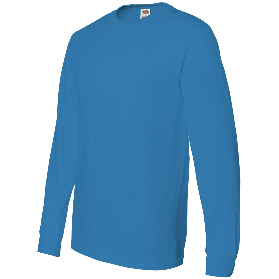Fruit Of The Loom Long Sleeve Cotton T Shirt For Your School