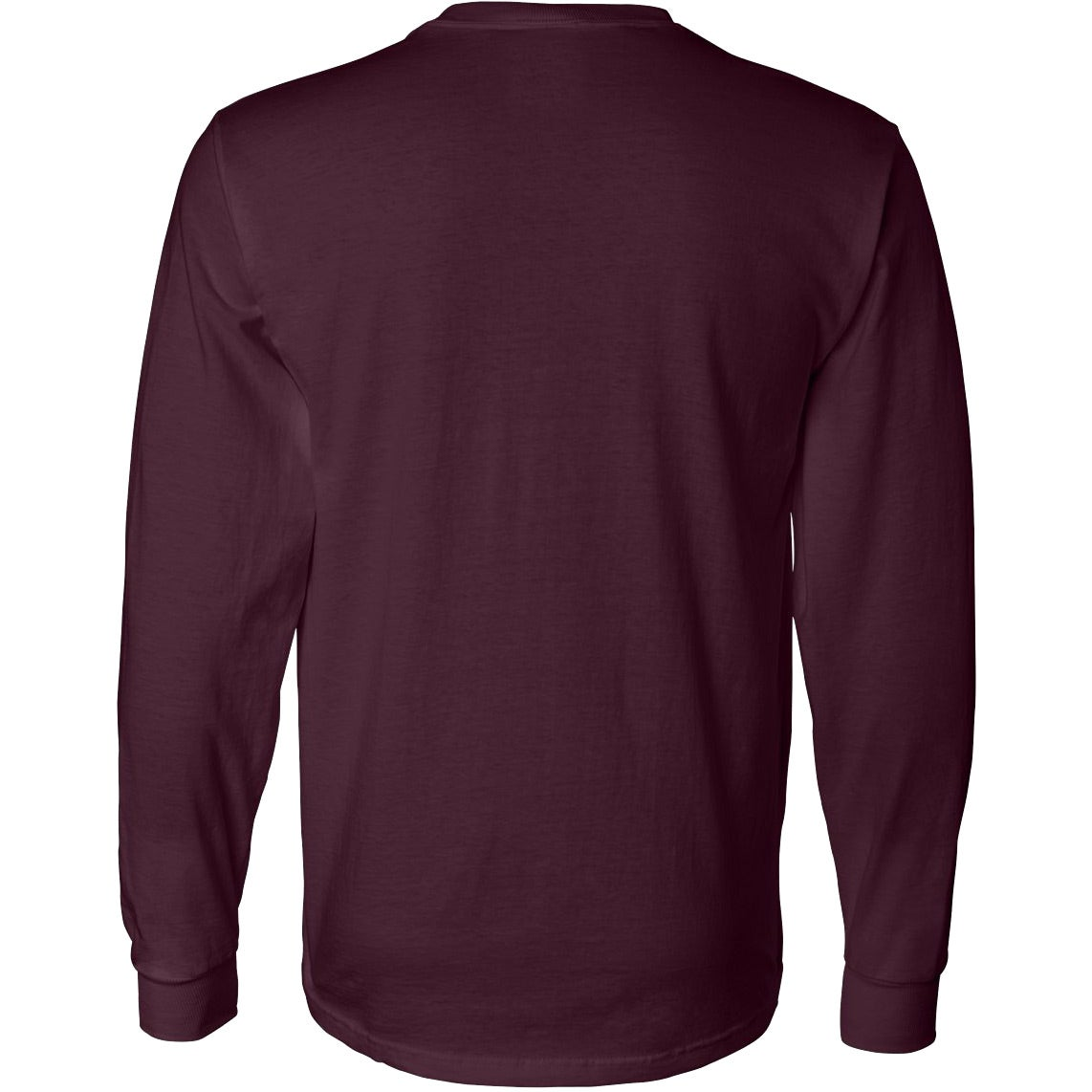 Fruit of the loom long sleeve cotton t shirt colors for Long sleeve cotton tee shirts