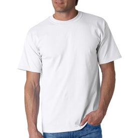 Gildan Ultra Cotton T-Shirts (Men''s, White, Quick Ship)