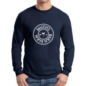 Gildan Dryblend 50 Cotton/50 Poly Long Sleeve T-Shirts (Men''s, Colors)