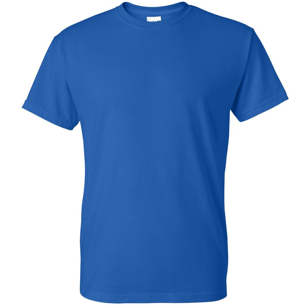 Promotional Gildan Dryblend 5050 T Shirts With Custom Logo For