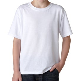 Gildan Dryblend T-Shirt (Youth, White)