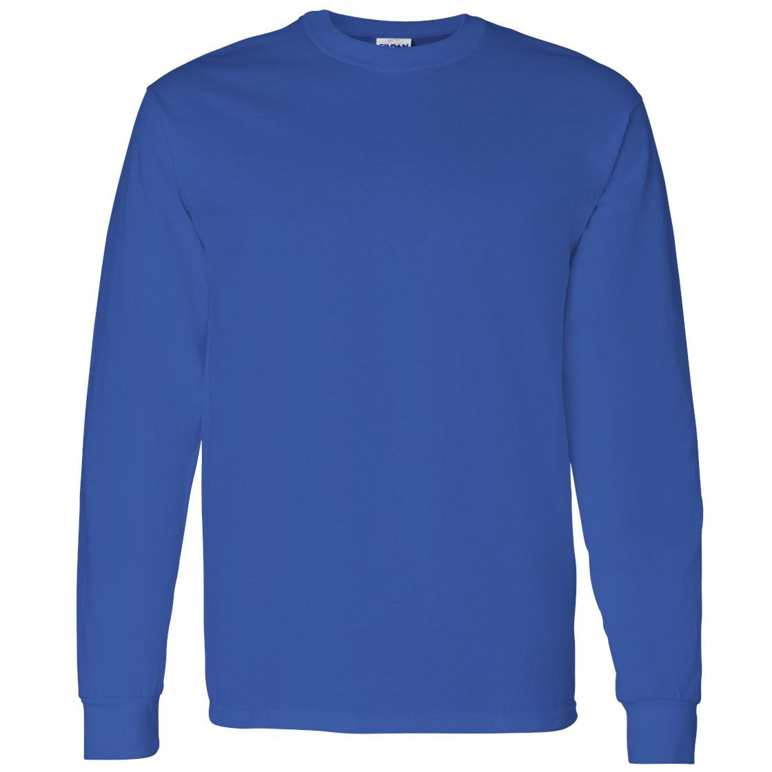 Promotional colors gildan heavy cotton long sleeve t for Custom screen print t shirts no minimum
