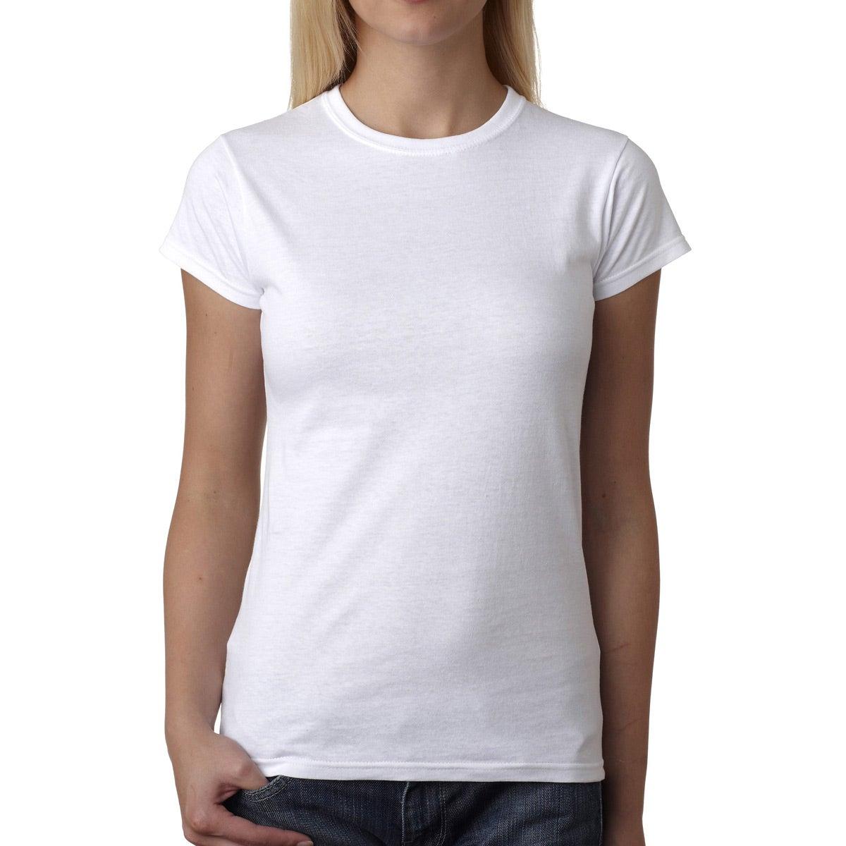 women's t shirt white