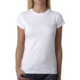 Gildan Softstyle Ladies' T-Shirt (White)