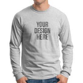 Gildan Ultra Cotton Long Sleeve T-Shirt (Men's, Colors)