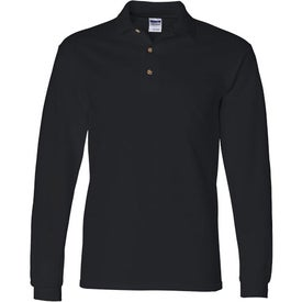 Gildan Ultra Cotton Long Sleeve Pique Sport Shirt for Marketing