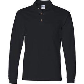 Gildan Ultra Cotton Long Sleeve Pique Sport Shirt for Marketing