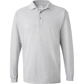Gildan Ultra Cotton Long Sleeve Pique Sport Shirt Imprinted with Your Logo