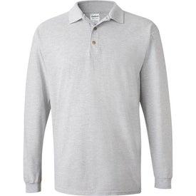 Gildan Ultra Cotton Long Sleeve Pique Sport Shirt Imprinted with Your Logo
