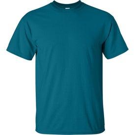 Dark Gildan Ultra Cotton T-Shirt with Your Slogan