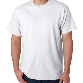 Gildan Heavy Cotton T-Shirt (Men's, White)