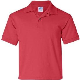 Monogrammed Gildan Ultra Blend Youth Jersey Sport Shirt