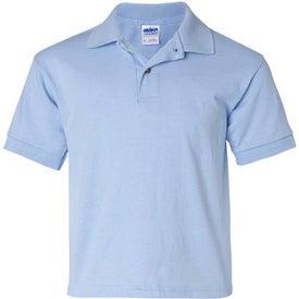 Personalized Gildan Ultra Blend Youth Jersey Sport Shirt