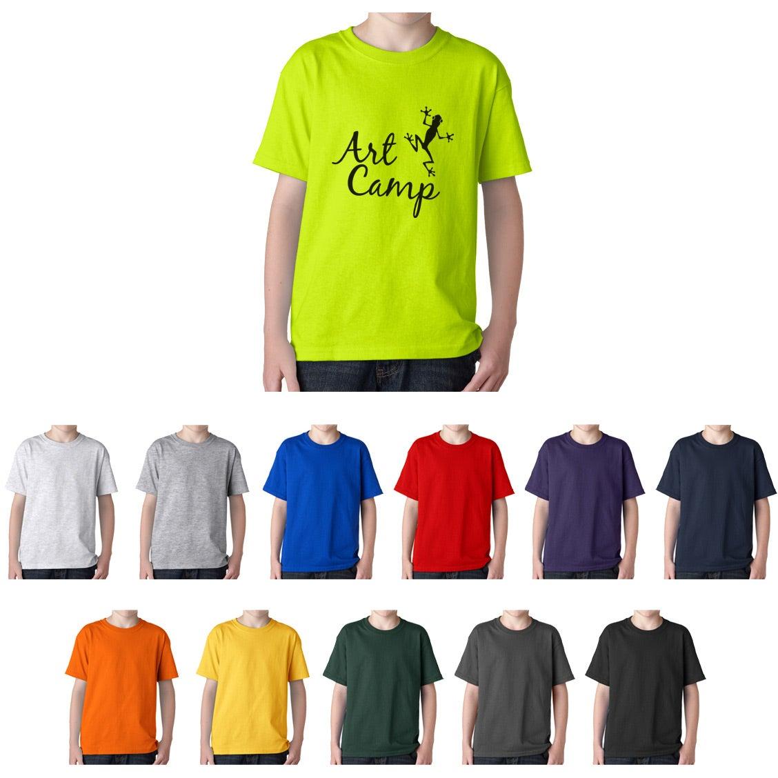 Heavy Cotton T Shirts Custom Rldm