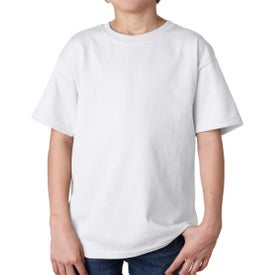 Gildan Youth Ultra Cotton T-Shirt (White)