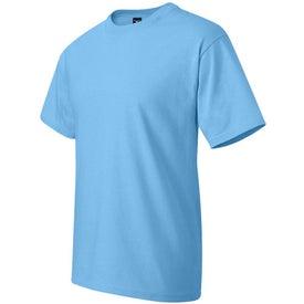 Dark Hanes Beefy T-Shirt for Advertising