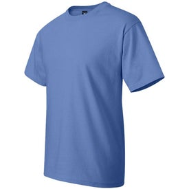 Dark Hanes Beefy T-Shirt Imprinted with Your Logo