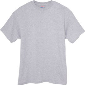 Hanes Beefy T-Shirt (Men's, Light Steel, Natural, and Ash)