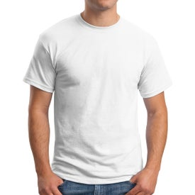 Hanes EcoSmart 50/50 T-Shirt (Men's, White)