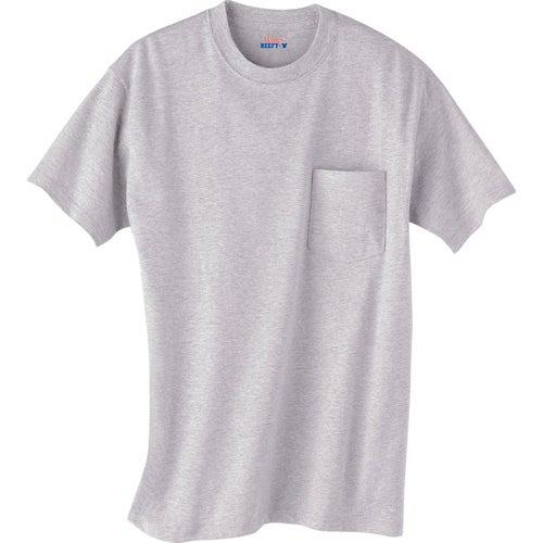 Light hanes beefy t 100 cotton pocketed t shirt custom for Custom pocket t shirts