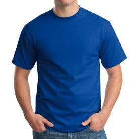 Dark Hanes Authentic Tagless T-Shirt Branded with Your Logo
