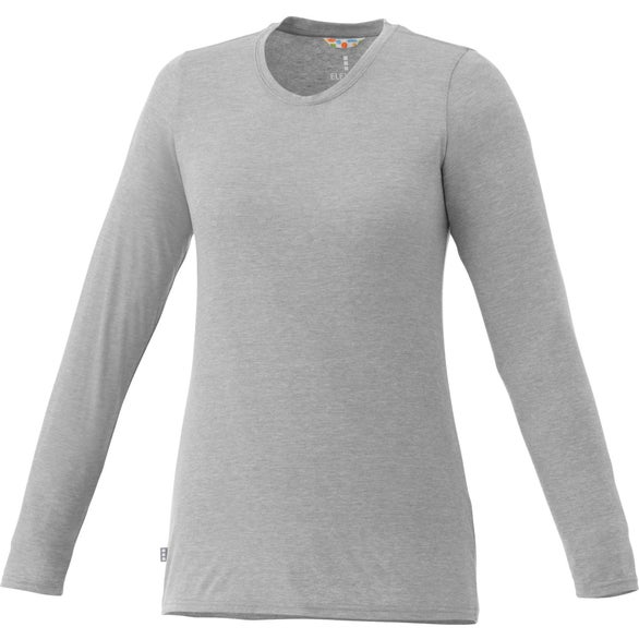 Heather Holt Long Sleeve Tee Shirt by TRIMARK
