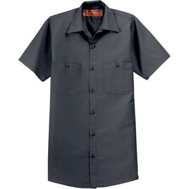 Cornerstone Short Sleeve Industrial Work Shirt Giveaways