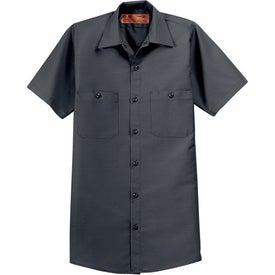 Cornerstone Short Sleeve Industrial Work Shirt Giveaways