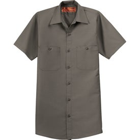 Cornerstone Short Sleeve Industrial Work Shirt with Your Logo