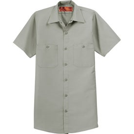 Cornerstone Short Sleeve Industrial Work Shirt for Promotion