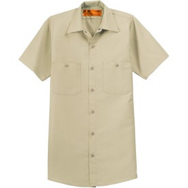 Cornerstone Short Sleeve Industrial Work Shirt for your School
