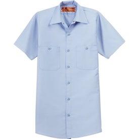 Printed Cornerstone Short Sleeve Industrial Work Shirt